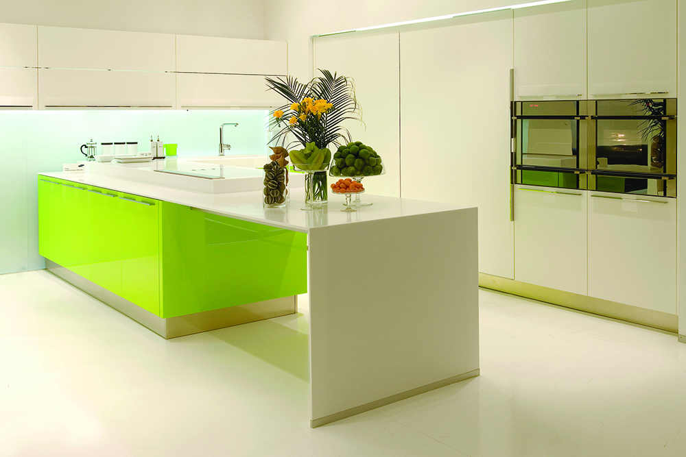 Kitchen Counter Tops Island Solid Surface Leg