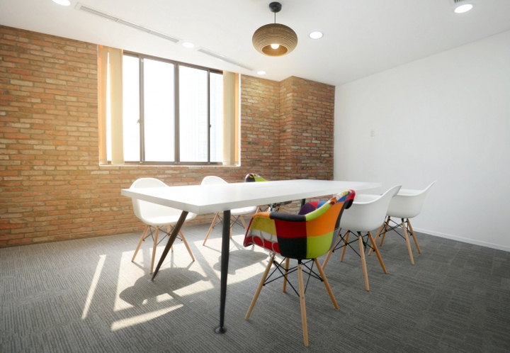White Stone Simple Small Meeting Conference Table