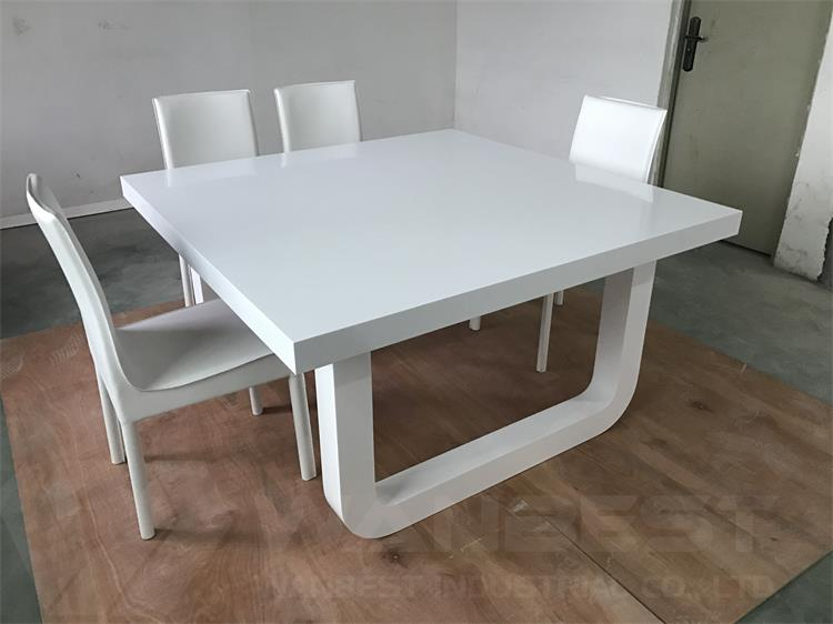 8 seater glacier dining table set
