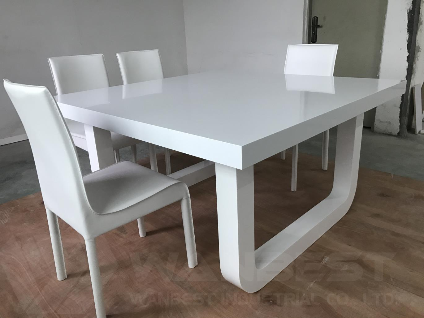 artistic corian dining table home family 8 seater
