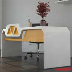 Newest design made by artificial stone hot sale office desk