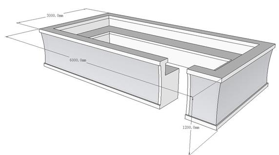 Unique Square Large Bar Counter Furniture Manufacturer