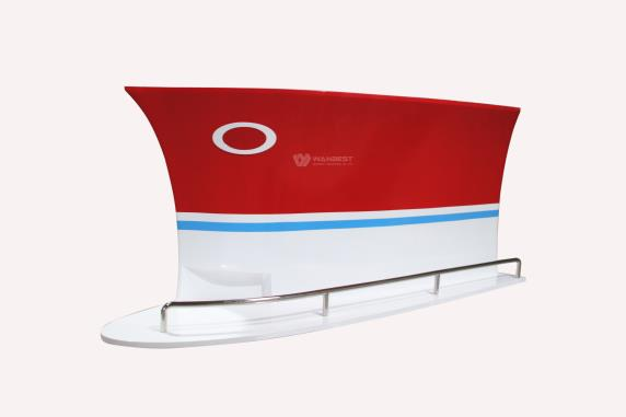 Fashion Special Boat Design 2018 Bar Counter for hot sale