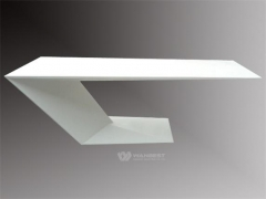 Z Shape Stone Coffee Table Dinner Counter