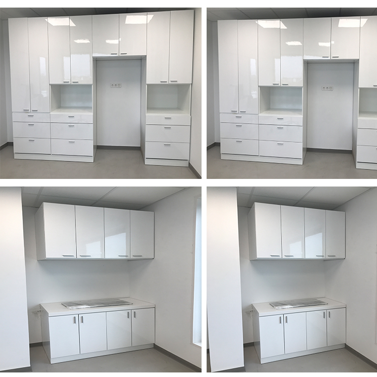 France order solid surface cabinets display