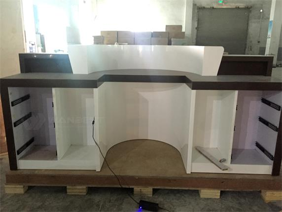 Coffee Bar Counter Customized Special Cup Shape Design