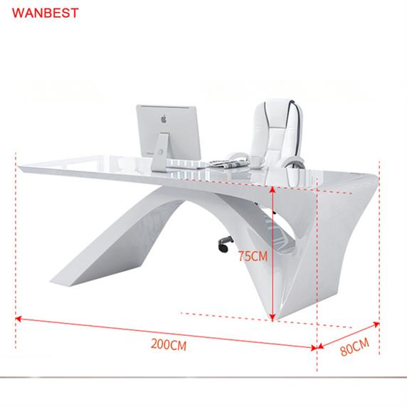 Marble Stone High Quality White Popular Company Office Furniture Desk For Hot Sale