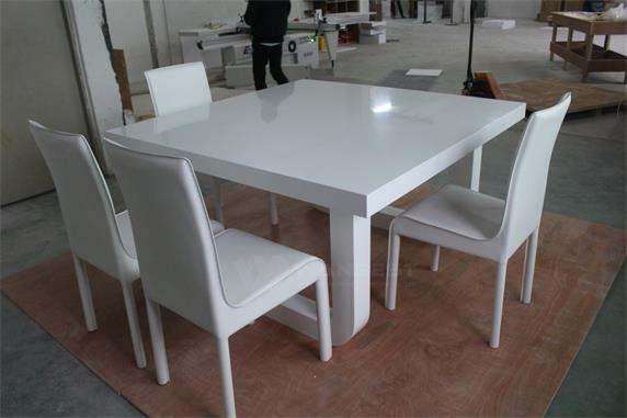 Corian Solid Surface 8 People Home Dining Table